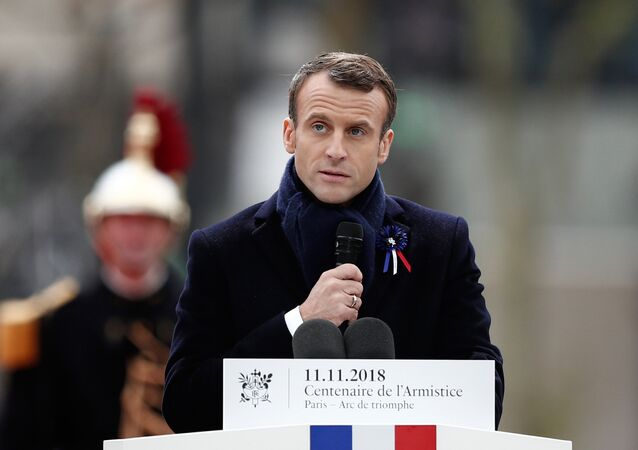French President Emmanuel Macron. File photo