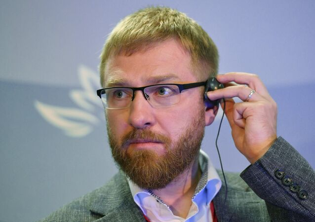Alexander Malkevich, Editor-in-chief of 'USA Really news'