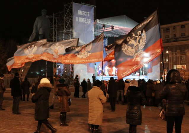 DPR, Election Campaign in Donetsk