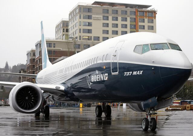 FILE - In this March 7, 2017, file photo, the first of the large Boeing 737 MAX 9 models, Boeing's newest commercial airplane, sits outside its production plant in Renton, Wash