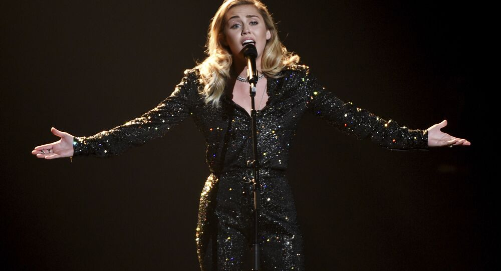 Miley Cyrus performs onstage at the 2018 MusiCares Person of the Year tribute honoring Fleetwood Mac at Radio City Music Hall on 26 January 2018, in New York.