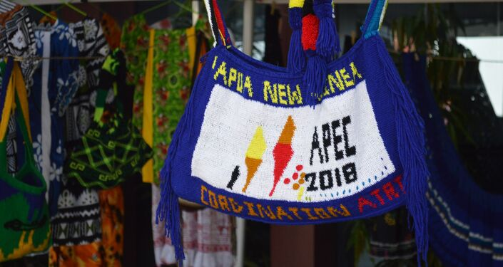 Papua New Guinea Shares its Culture with APEC Delegates