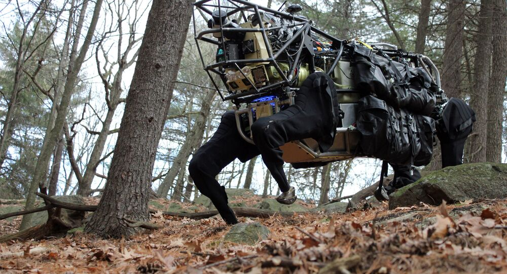 Boston Dynamics 'Big Dog' battlefield robot