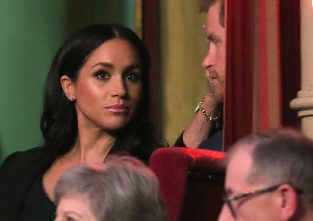 Britain's Prince Harry, Duke of Sussex and Meghan, Duchess of Sussex attend the Royal British Legion Festival of Remembrance to commemorate all those who have lost their lives in conflicts and mark 100 years since the end of the First World War, at the Royal Albert Hall, London, Britain November 10, 2018