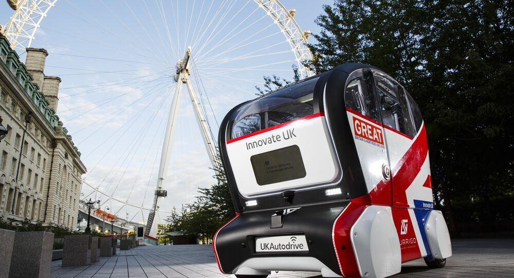 UK Autodrive Self-Driving Pod