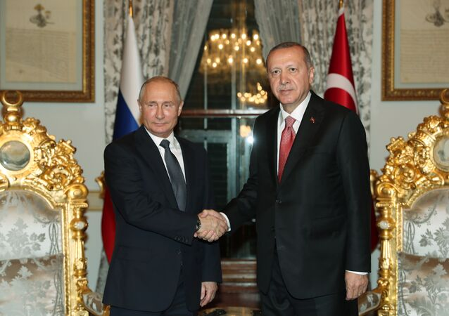 Russian President Vladimir Putin and Turkish President Tayyip Erdogan