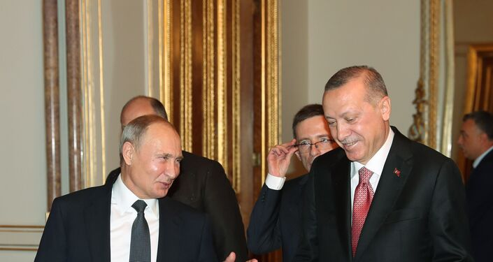 Russian President Vladimir Putin and Turkish President Tayyip Erdogan