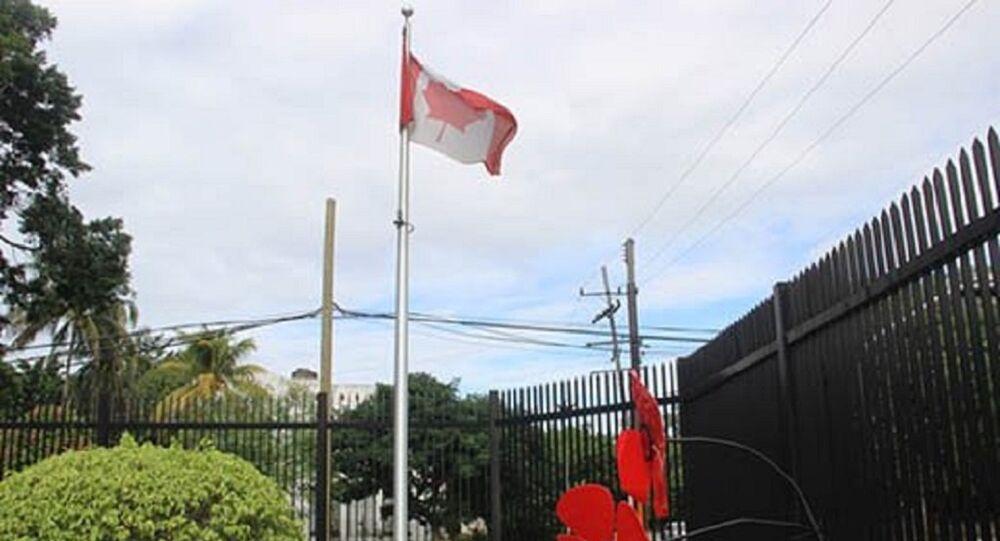 Canadian embassy on Cuba