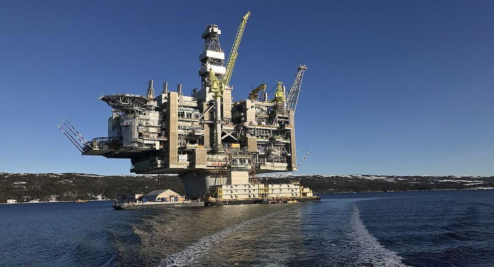 Hebron Oil Platform, Newfoundland