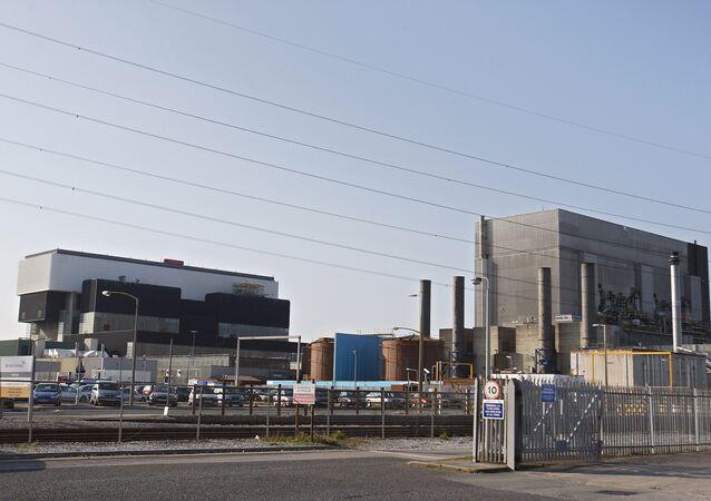 British Energy's Heysham Nuclear Power Station in Heysham, north west England (File)