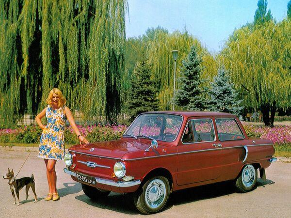 There Was Sex in USSR: Soviet Car Advertising - Sputnik International