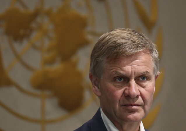 U.N. Environment chief Erik Solheim