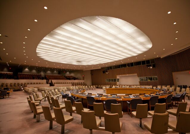 UN Security Council chamber (File photo).