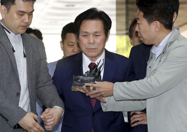 South Korean pastor Lee Jae-rock