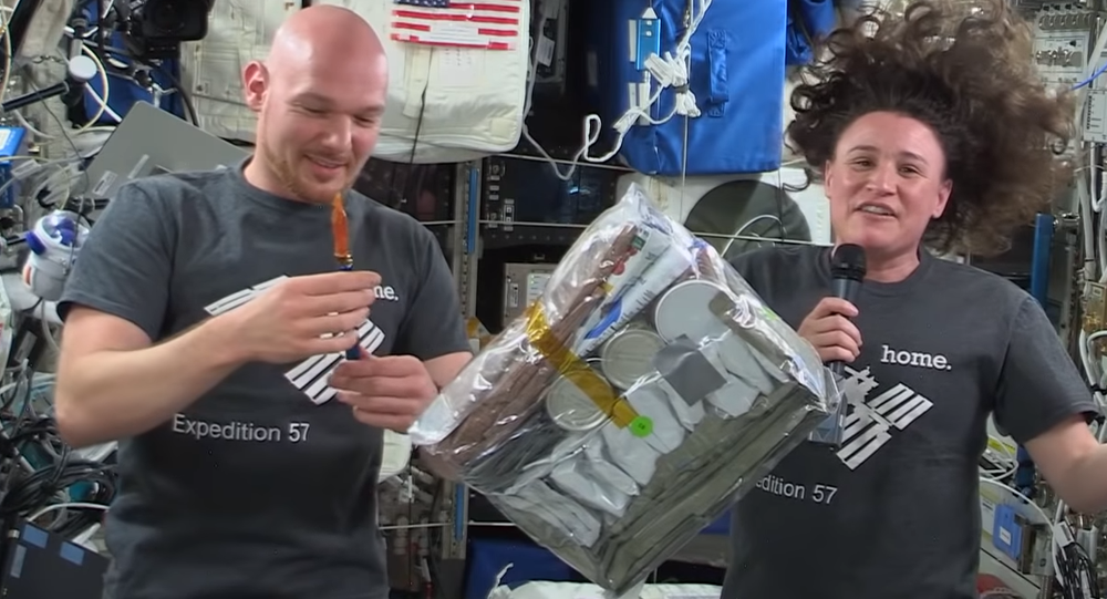Thanksgiving at the International Space Station