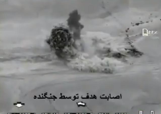 Iranian drone strikes against Daesh.