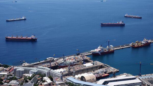 Seaport, Gibraltar - Sputnik International