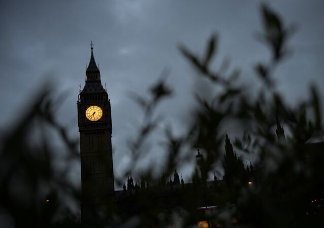 The Big Ben clock tower is seen in London