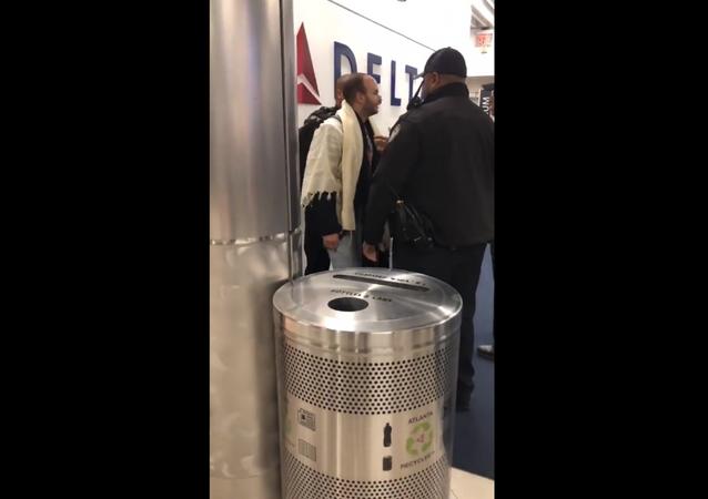 Man arrested at Georgia's Hartsfield-Jackson International Airport over his behavior on a Atlanta-bound Delta flight