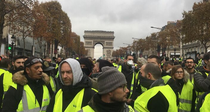 Yellow Vests protests against rising fuel prices began in France