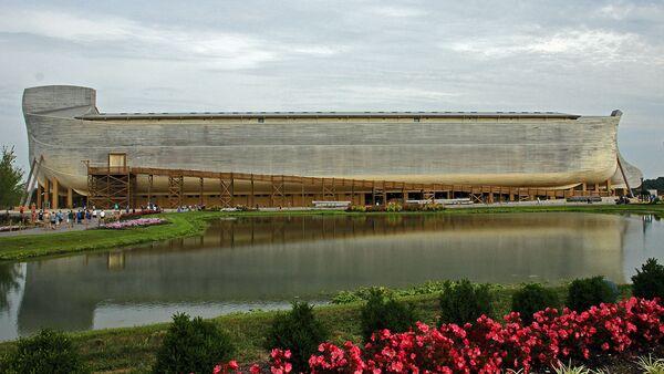 Noah's Ark Replica at Ark Encounter theme park - Sputnik International