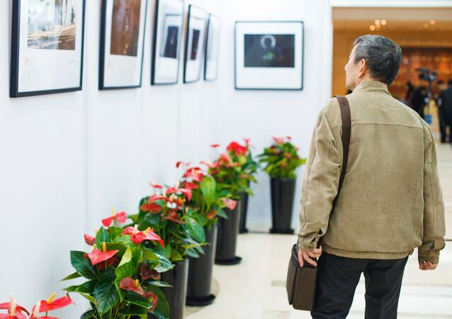 Exhibition of works of winners and prize-winners of a competition of Andrey Stenin in Shanghai