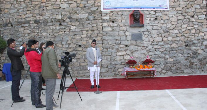 Bust of Dagestan's Prominent Poet Gamzatov Unveiled in Nepal