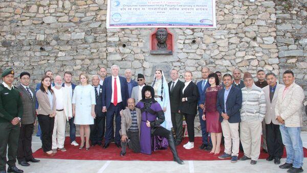 Bust of Dagestan's Prominent Poet Gamzatov Unveiled in Nepal - Sputnik International