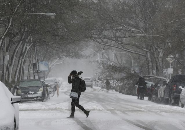 MIDWEST SNOWSTORM CHICAGO