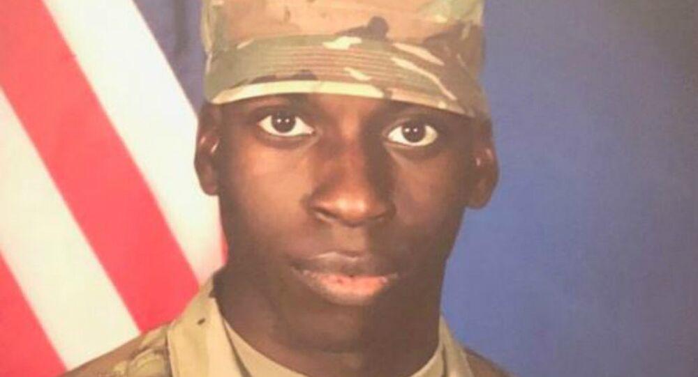 E.J. Bradford, United States Army.