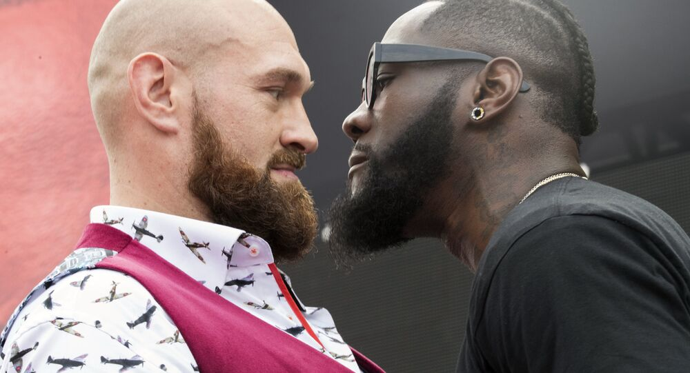Tyson Fury (left) and Deontay Wilder will fight for the WBC heavyweight title in Los Angeles on December 1, 2018