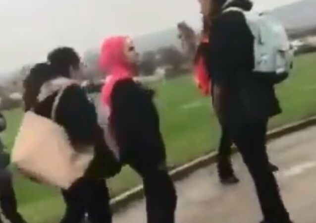 Syrian schoolgirl gets attacked in England