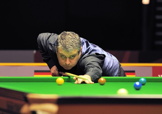 Rod Lawler at Snooker German Masters