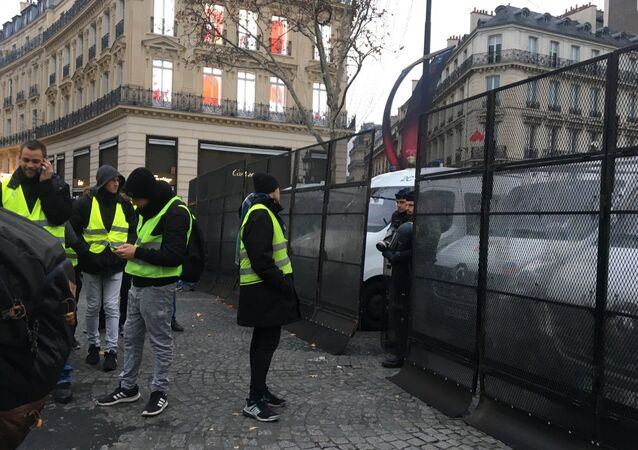 Yellow Vests movement protests