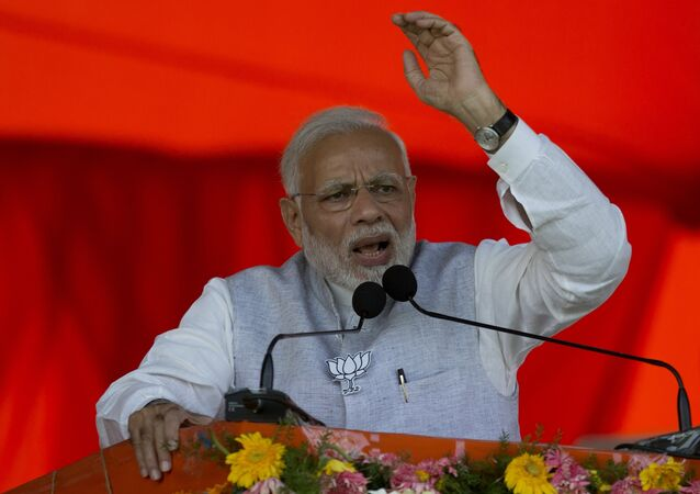 Indian Prime Minister Narendra Modi. File photo