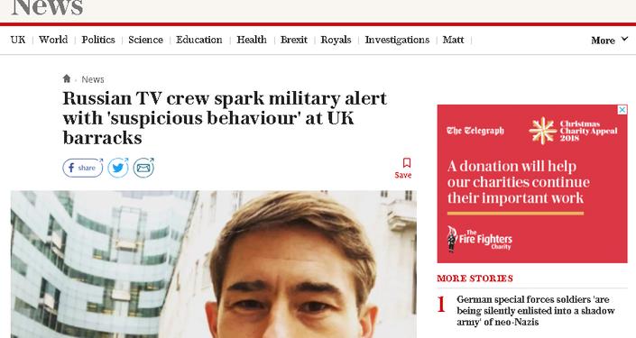 The Telegraph screengrab.