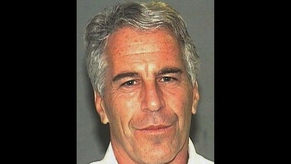 This July 27, 2006, file photo, provided by the Palm Beach Sheriff's Office shows Jeffrey Epstein. - Sputnik International