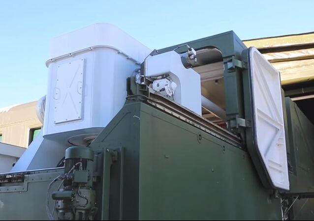 Combat laser system Peresvet