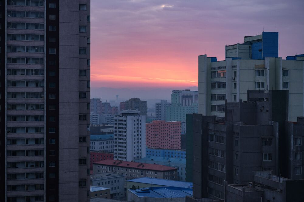 Hello Darkness, My Old Friend: Gloomy Beauty of North Korea's Cities