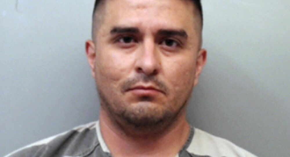 U.S. Border Patrol agent Juan David Ortiz. Ortiz, who confessed to shooting four women in the head and leaving their bodies on rural Texas roadsides, was indicted Wednesday, Dec. 5, 2018, on a capital murder charge