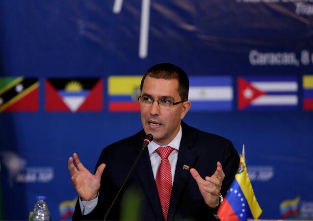 Venezuela's Foreign Affairs Minister Jorge Arreaza