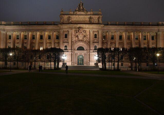 Riksdag building