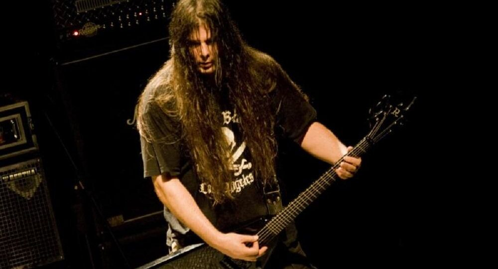 Pat O'Brien of Cannibal Corpse