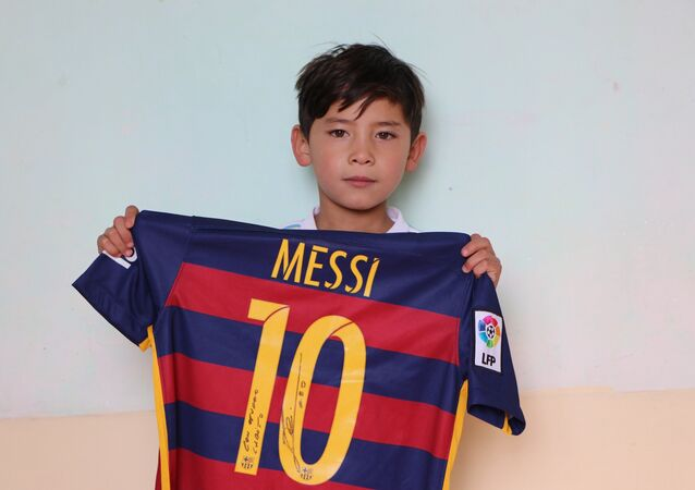 Taliban Hunting for Young Afghan Messi and His Family