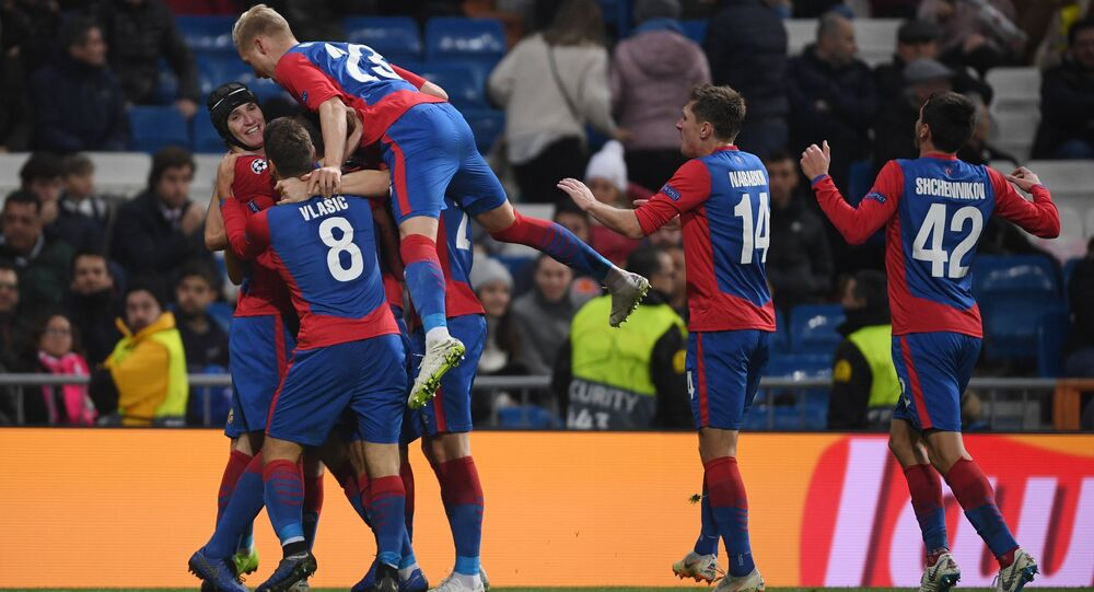 UEFA Champions League. Real Madrid VS CSKA