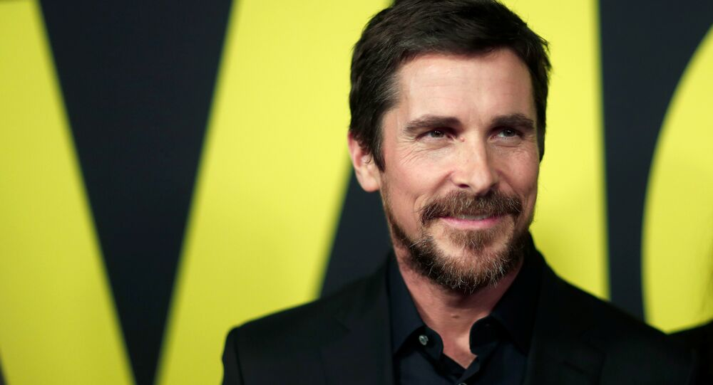 Cast member Christian Bale poses at the premiere for the movie Vice in Beverly Hills, California, U.S., December 11, 2018