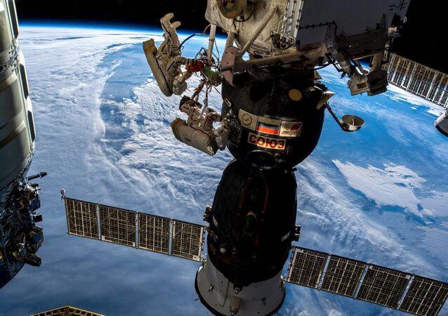 Spacewalk of Roskosmos cosmonauts Oleg Kononenko and Sergei Prokopyev. December 11, 2018