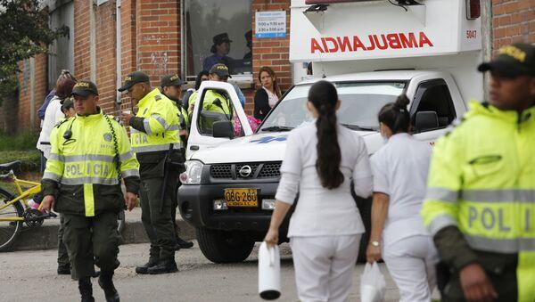 Police and ambulance , Colombia (File) - Sputnik International