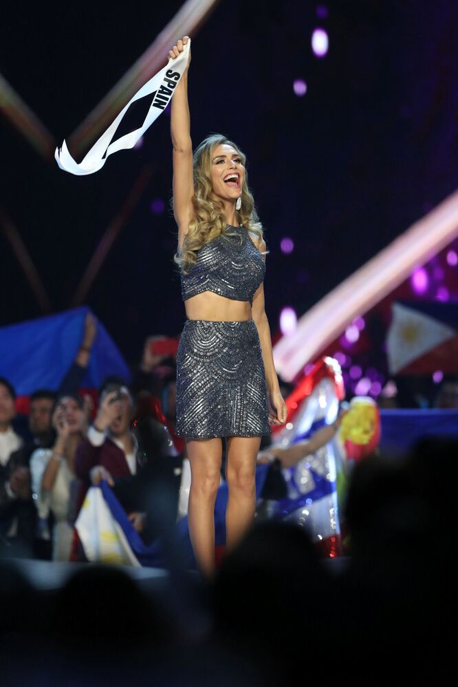 Miss Spain Angela Ponce During the Miss Universe 2018 Contest in Thailand