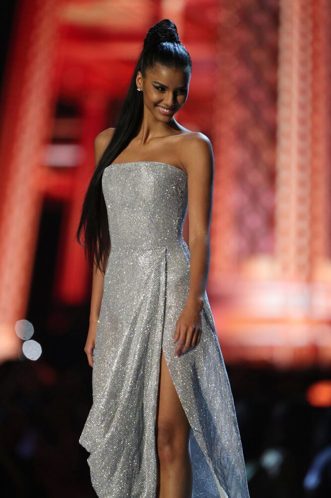 Miss South Africa Tamaryn Green During  the Miss Universe 2018 Contest in Thailand